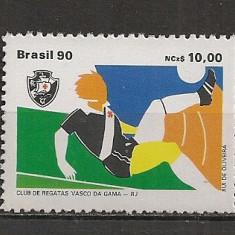 Brazilia.1990 Cluburi de fotbal premiate-Vasco da Gama  ED.207