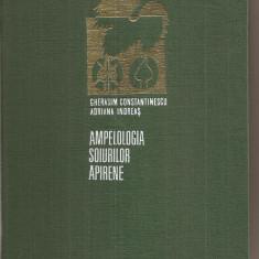 (C4128) AMPELOLOGIA SOIURILOR APIRENE- CONSTANTINESCU SI INDREAS, ED. ACAD. 1976
