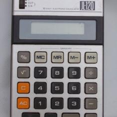 CALCULATOR JAPONEZ ELECTRONIC CU 10 DIGIȚI, VINTAGE, DE COLECȚIE, CASIO JI-120!