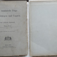 Eugen Brote , Chestiunea Romanilor in Transilvania si Ungaria , Berlin , 1895