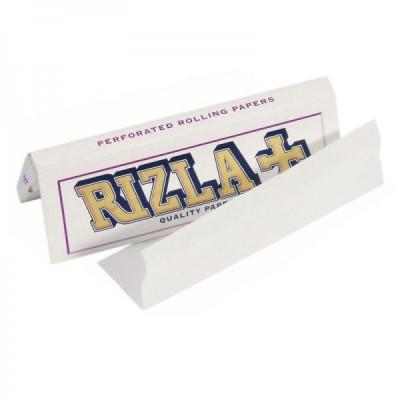 Foite rulat tigari RIZLA WHITE CLASSIC ULTRASLIM PERFORATED foto