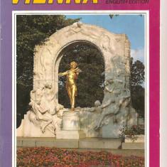 (C4087) GHID DE CALATORIE, VIENNA, ENGLISH EDITION, EDITURA VERLAG