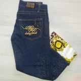 Blugi / jeans dama Baby Phat - produs original. - Blugi dama, Marime: 25, Culoare: Albastru, Lungi