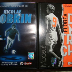 DOBRIN = DUMITRACHE = STEAUA-DINAMO ANII60-70 PE DVD - Minge fotbal