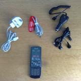 TELEFON MOBIL SAMSUNG U600 BLACK IN PERFECTA STARE, PACHET COMPLET, DECODAT - Telefon Samsung, Negru, 2GB, Neblocat, Single SIM, Fara procesor