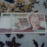 V. 100000 lire 1970 Turcia nr 3
