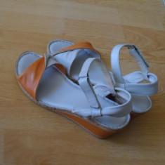 Sandale Andrada- Benvenuti - Sandale dama Benvenuti, Culoare: Bej, Marime: 39, Bej