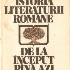 AL.Piru-Istoria Literaturii Romane de la inceput pina azi