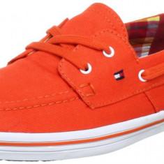 41_OFERTA_mocasini originali unisex TOMMY HILFIGER_adidasi tommy hilfiger_cutie - Mocasini barbati Tommy Hilfiger, Culoare: Orange