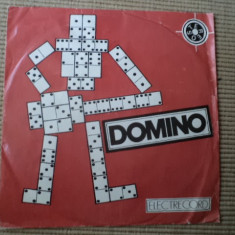 Domino la drum disc single muzica rock vinyl sorin chifiriuc electrecord, VINIL