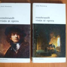 H5 Jakob Rosenberg - Rembrandt: viata si opera (2 volume)