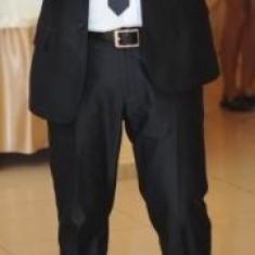 Costum Roberto Cavalli negru, original - Costum barbati Roberto Cavalli, Marime: 52, 2 nasturi, Marime sacou: 50, Normal, 48 sau mai mare