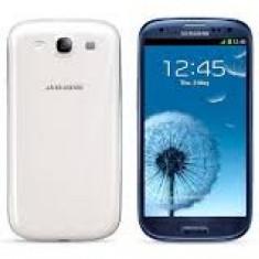 Vand Samsung Galaxy S3 - Telefon mobil Samsung Galaxy S3, Albastru, 16GB, Neblocat, Quad core, 2 GB