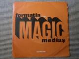 Formatia MAGIC medias povestea codrului oda disc single vinyl muzica rock 1977, VINIL, electrecord