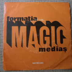 Formatia MAGIC medias povestea codrului oda disc single vinyl Muzica Rock electrecord 1977, VINIL