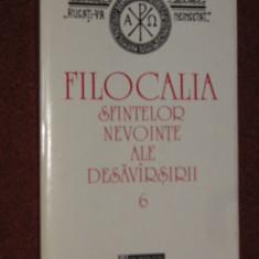 FILOCALIA SFINTELOR NEVOINTE ALE DESAVARSIRII - VOL. 6 (HUMANITAS)