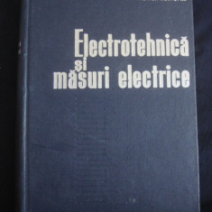 MARIUS PREDA, VIORICA HORTOPAN - ELECTROTEHNICA SI MASURI ELECTRICE