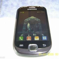 Vand schimb galaxi fit.okazie - Telefon mobil Samsung Galaxy Fit, Negru, Neblocat
