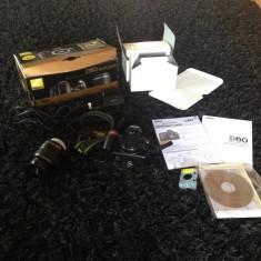 Nikon DSRL D60 - DSLR Nikon, Kit (cu obiectiv), 12 Mpx