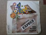 GRUPUL VOCAL EXPRES Vrei Nu Vrei Vacanta Rosu si Negru Dumitru vinyl single disc, VINIL, electrecord