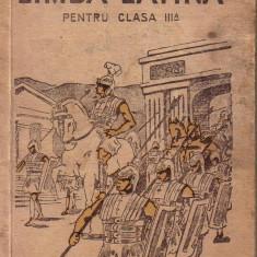 Bujor Chiriac-Limba latina pentru clasa a III a anul 1946 Altele