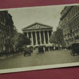 carte postala - PARIS - EN FLANANT - 1931 - La Madeleine et la Rue Royale - circulata !!!
