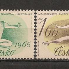 Cehoslovacia.1966 C.E. de patinaj artistic Bratislava SC.516 - Timbre straine