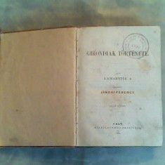 A girondiak tortenete I-II-Lamartine A