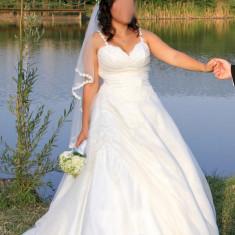Vand Rochie de mireasa marimea M, Rochii de mireasa printesa