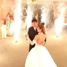 Artificii nunta pentru valsul mirilor 8 buc