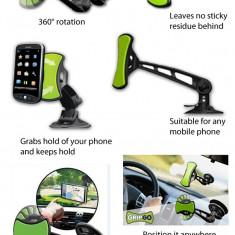 Suport pentru telefon, GPS UNIVERSAL PENTRU MASINA GRIPGO - Suport auto
