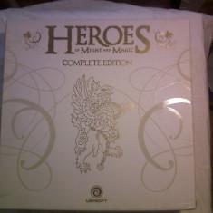 Heroes Complete Edition, editie de colectie, jocurile de la Heroes 1 la 5 si add-on-uri, DVD soundtracks, Album artworks, carti Tarot Heroes5, tricou. - Jocuri PC Ubisoft