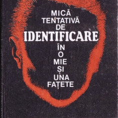 MICA TENTATIVA DE IDENTIFICARE IN O MIE SI UNA FATETE. POVESTI ADEVARATE DE GHERASIM EMIL