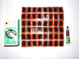 PETEC de CAUCIUC 2.5cm X 3.5cm set de 48 de bucati + adeziv