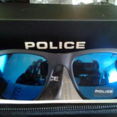 Ochelari de soare police S1800, Unisex, Albastru, Dreptunghiulari, Plastic, Protectie UV 100%