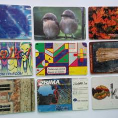 Lot cartele telefonice romanesti - 2 - - Cartela telefonica romaneasca