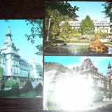 CALIMANESTI. 3 ILUSTRATE COLOR CIRCULATE (I10) - Carte Postala Oltenia dupa 1918, Circulata, Fotografie
