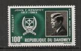 Dahomey.1965 John F.Kennedy-presedinte  SD.34
