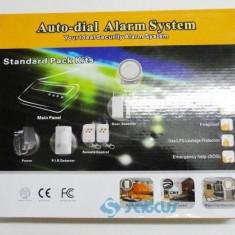 Sistem de Alarma Casa model 2013 Gsm07 + Senzor Impact: Antiefractie Apartament Casa Magazin Spatiu Comercial = OFERTA !