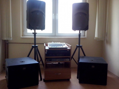 Vand sistem audio foto