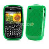 Husa silicon verde blackberry 8520 curve