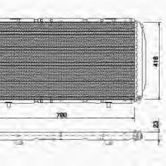 VAND Radiator racire Nespecificat motor peugeot boxer/citroen jumper/fiat ducato NOU