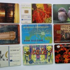 Lot cartele telefonice romanesti - 1 - - Cartela telefonica romaneasca