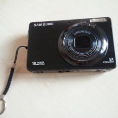 Aparat foto digital Samsung PL60, 10.2MP, Negru - Aparat Foto compact Samsung, Compact, 10 Mpx, 5x, 2.4 inch