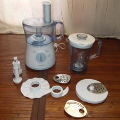 Robot de bucatarie PHILIPS HR7625, vas 2l, blender 1.5l - Robot Bucatarie Philips, 500 W
