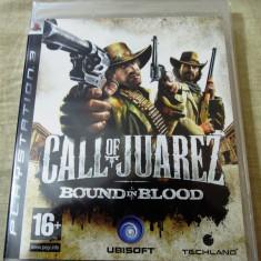 Joc Call of Juarez Bound in Blood, PS3, sigilat, alte sute de jocuri! - Jocuri PS3 Ubisoft, Shooting, 16+, Single player