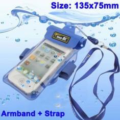 Husa Telefon LG impermeabila diferite marimi, Universala, Verde, Plastic, Carcasa