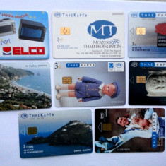 Lot cartele telefonice straine Grecia - 6 - CEL MAI MIC PRET - Cartela telefonica straina