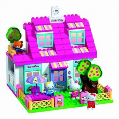 PlayBig BLOXX 57010 - Villa Hello Kitty BONUS tractor Hello Kitty - Jocuri Board games