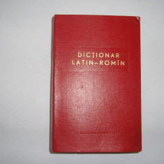 DICTIONAR LATIN - ROMAN, rf3/3, RF11/4